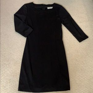 RD Style Black 3/4-sleeve Dress, Size S